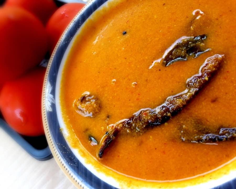 tangy tomato curry recipe