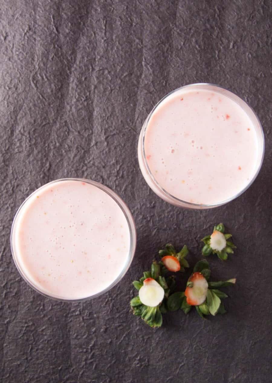 Quick Strawberry Smoothie