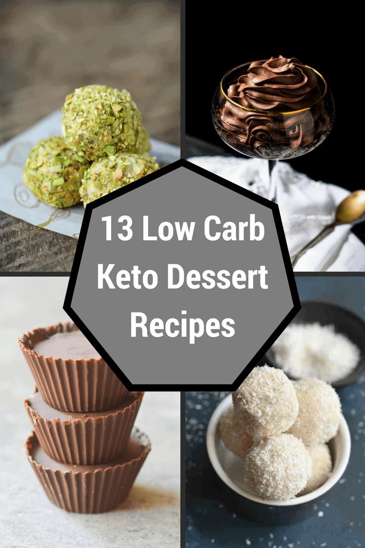 Low Carb Keto Dessert Recipes