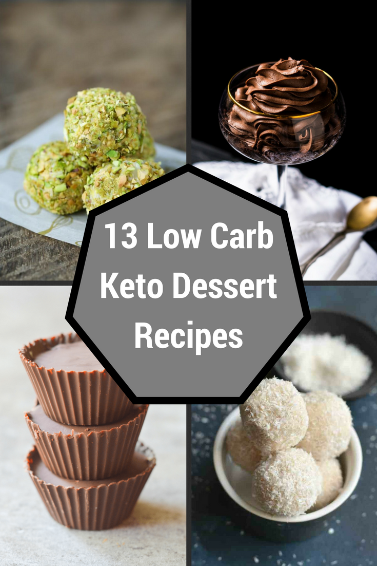 Low Carb Keto Dessert Recipes