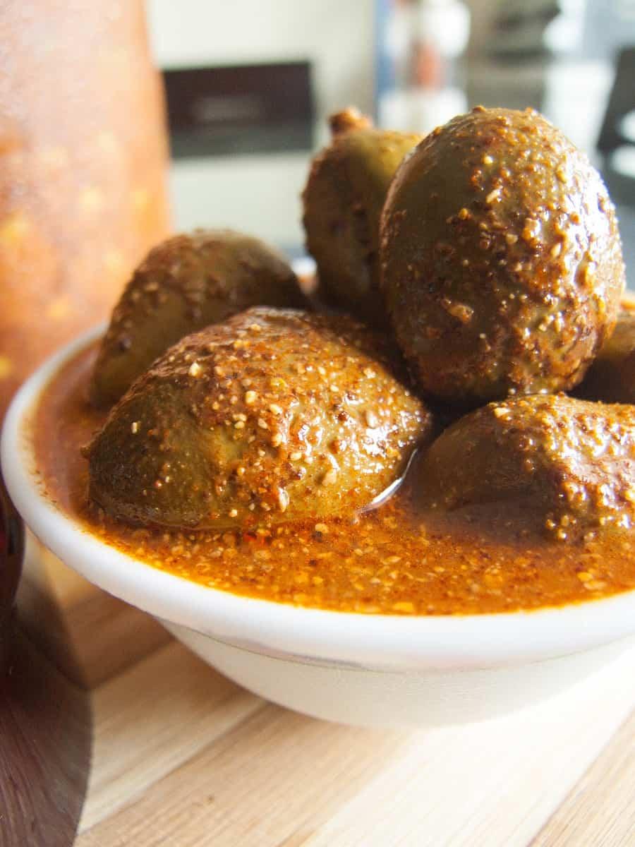 Kannimanga Achar Recipe