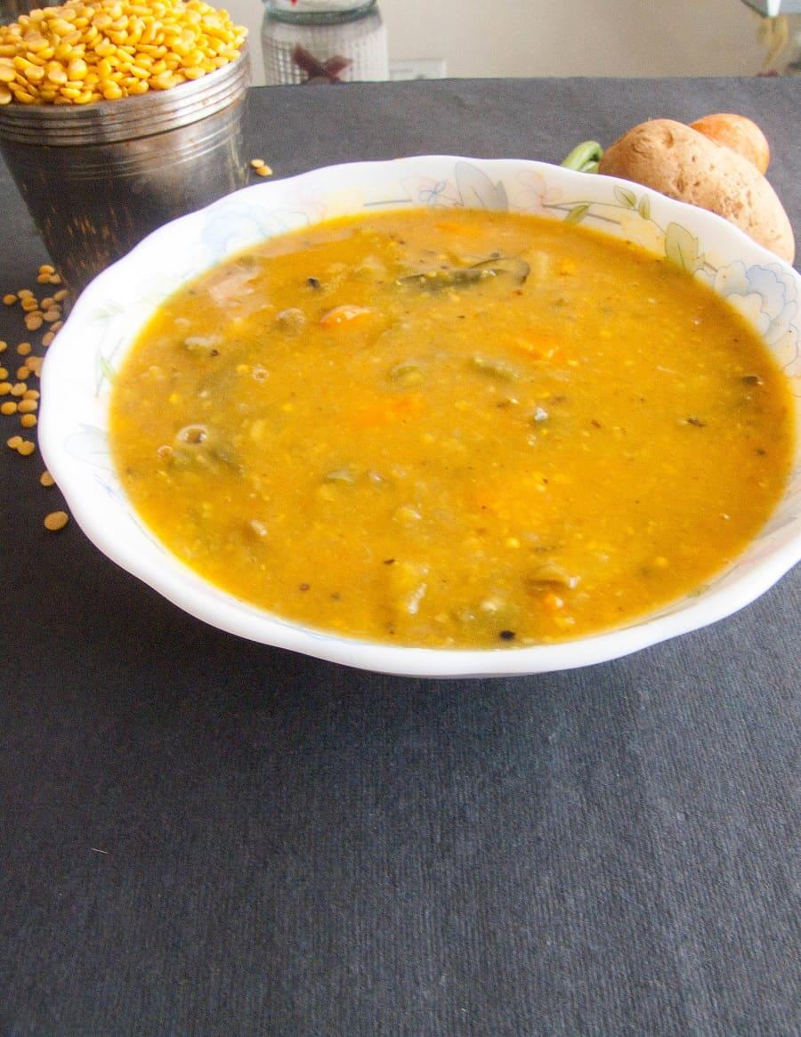Instant South Indian Sambar Recipe