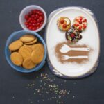 Cherry Topped Sweet Biscuit Sandwich Recipe