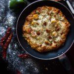 homemade cheese burst pizza recipe